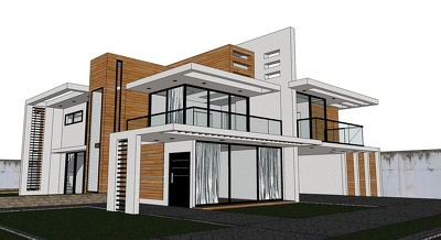 Display your home or floorplan into 3D by SketchUp
