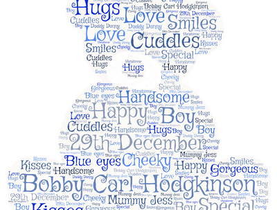 Create A Stunning Word Cloud for you In any shape or colour!