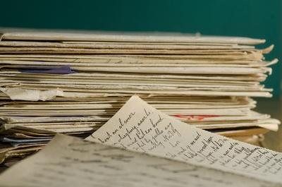 Type up handwritten notes.