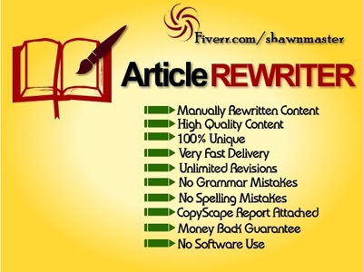 Will Manually Rewrite All Type Of Articles To Pass Copyscape