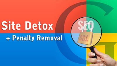 SEO DETOX - BAD LINKS REMOVAL - GOOGLE PENALTY PASS ✔