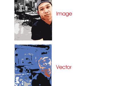 Make a vector illustration for your desired logo