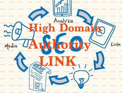 Create High Domain Authority  SEO Links