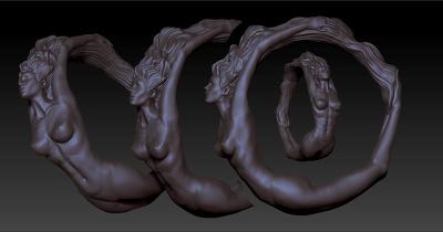 Create jewelry 3d model