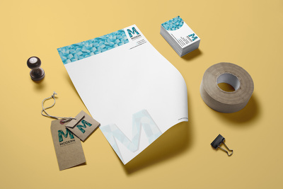 Design you a letterhead and a compliment slip