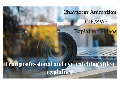 Create professional and eye catching video explainer