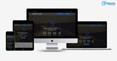 Design ICO website