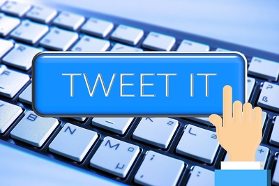 Create and post 2 times a day on Twitter for 1 month