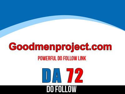Guest post on Goodmenproject.com – Goodmenproject – DA 72