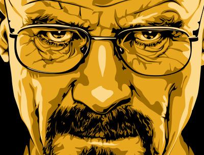 Customize single Digital Vector Illustration Portrait