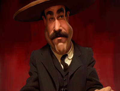 Create highly realistic caricatures or portraits.
