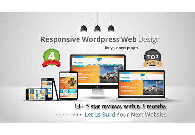 Create professional, fast & responsive website in WordPress