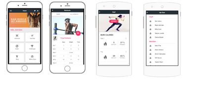 Develop Fitness App And CRM system