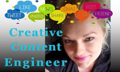 Create a 4 week Facebook posts marketing campain