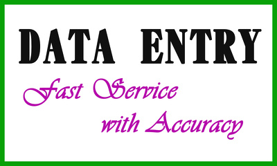 Do Data Entry of 1000 entries very fast