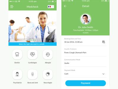 Design and develop Medical Website & Mobile Application