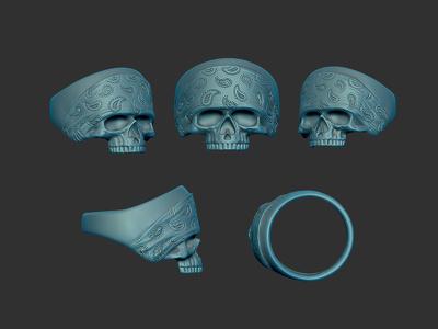 Create ring 3d model