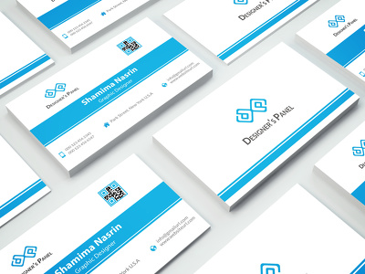 Design modern minimalist business card