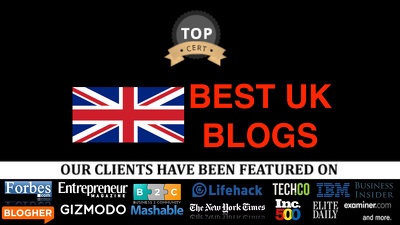 Publish Guest post on .co.uk blogs 12 years Old: UK Package Deal