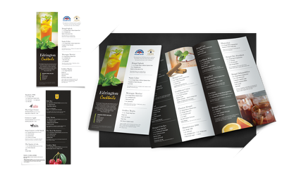Design your business brochure or direct mail piece