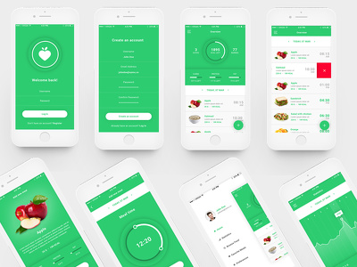 Design creative and unique ui ux design for your mobile App