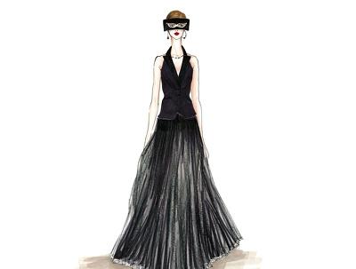 Create custom fashion illustration