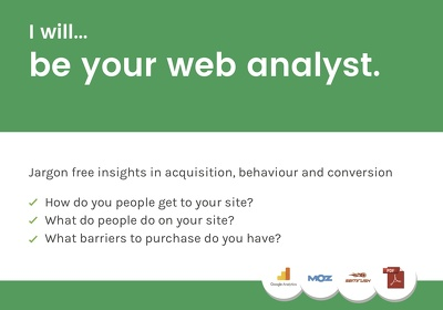 Be your web analyst