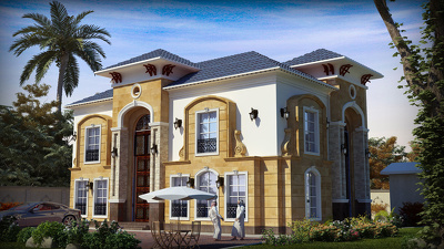 Render an exterior shot for your building within 2 days max.