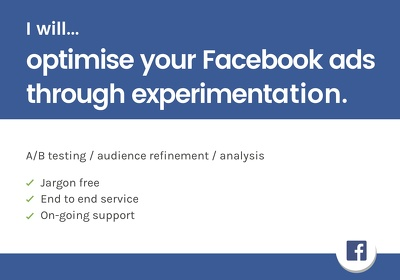 Optimise your Facebook advertising through experimentation