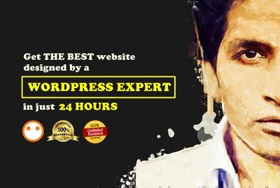 Create the MOST PROFESSIONAL Wordpress website