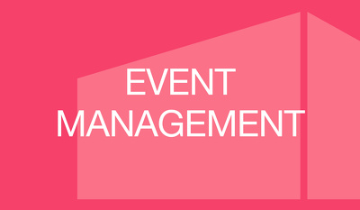 Help you manage your event for 2 hours