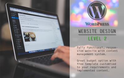 WordPress Website Design - Level 2 (Standard)