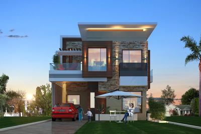 3d exterior rendering