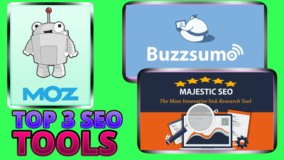 Give Moz MajesticSEO And BuzzSumo Reports / Access