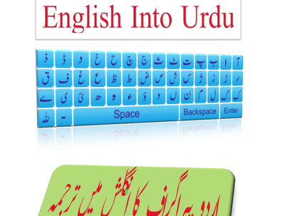 Translate English to Urdu &Urdu editing 1 hour