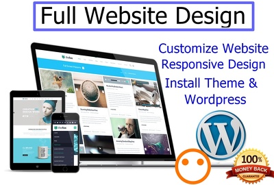 Create the MOST PROFESSIONAL Wordpress website