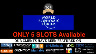 Guest post on The World Economic Forum weforum.org forbes INC
