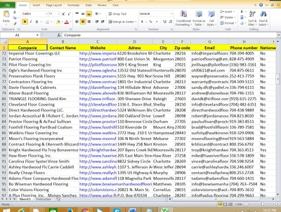 Deep Market Research And Data Collection in 100 email.