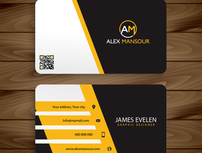 Design a Professional Business Card for 10$