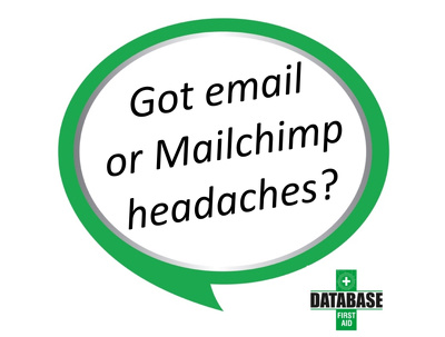 Send your regular marketing emails via Mailchimp (by week/month)