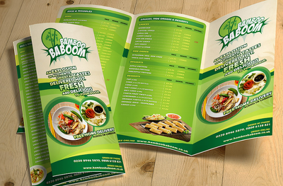 Design Attractive Restaurant Menu For You