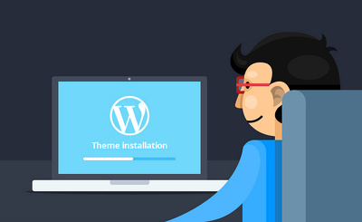 Set up Wordpress and selected Theme and configure 1 plugin