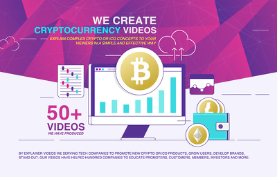 Create 30 Sec Explainer Video on Cryptocurrency or ICO Project