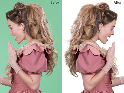 Do Image Masking Or Hair Masking 25 Images 24 hours