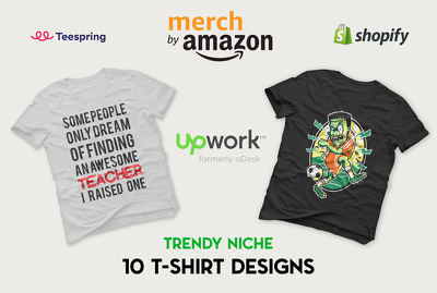 Make Merch By Amazon t shirt Designs and provide Keywords