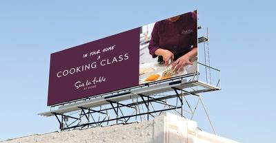 Design a unique billboard or signage