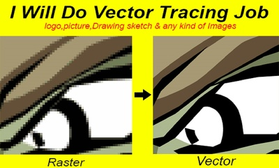 Convert Your Any Raster Images And Logo To Vector Format