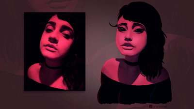 Make your portrait combining my style with good shading