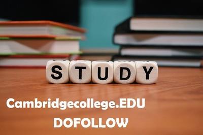 Publish Post on cambridgecollege.edu DA60 - Guest Post/ Dofollow