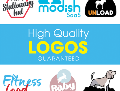 Design high quality logos with unlimited revisions